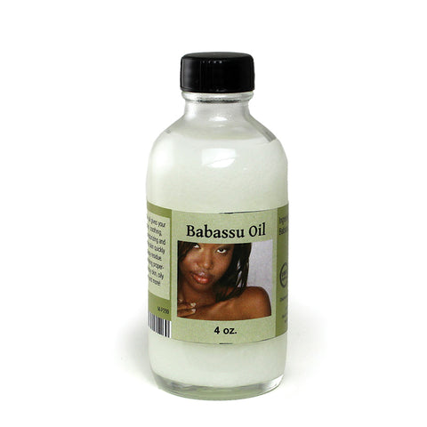 Babassu Oil (Organic) - 4 oz.