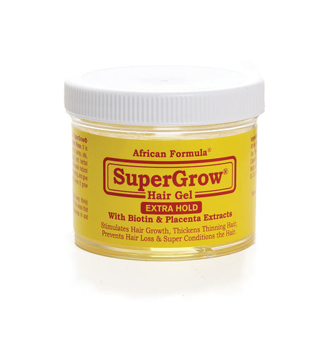 SuperGrow Hair Gel: Extra Hold - 4 oz.