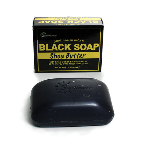 Shea Butter Black Soap - 5 oz.