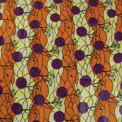 Economy Fabric: Autumn Tree - 12 Yds