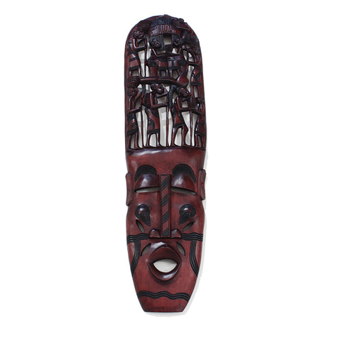 Over-Sized Kenyan Family Tree Mask 36""
