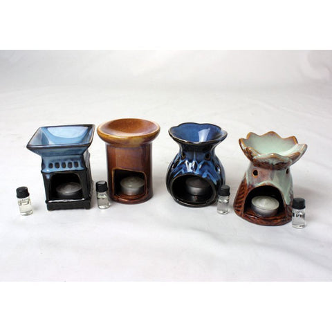 Porcelain Oil Burner - Assorted