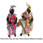 African Cloth Doll: SMALL