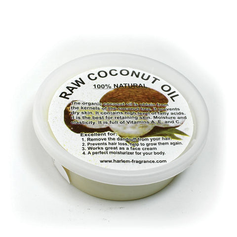 Raw Coconut Oil/Shea Butter Blend- 8 oz