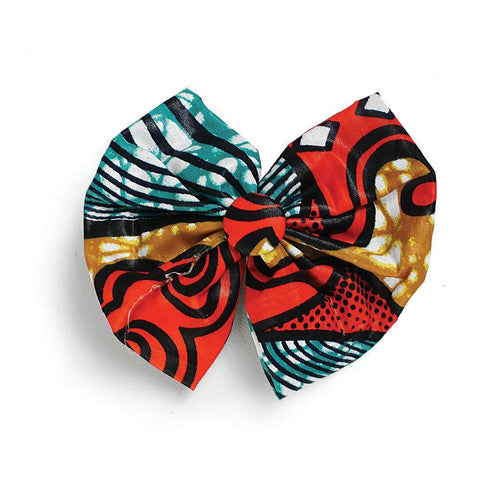 Kitenge Hair Bow - ASSORTED