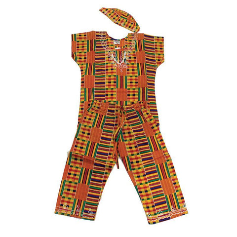 Children's Kente Pant Set