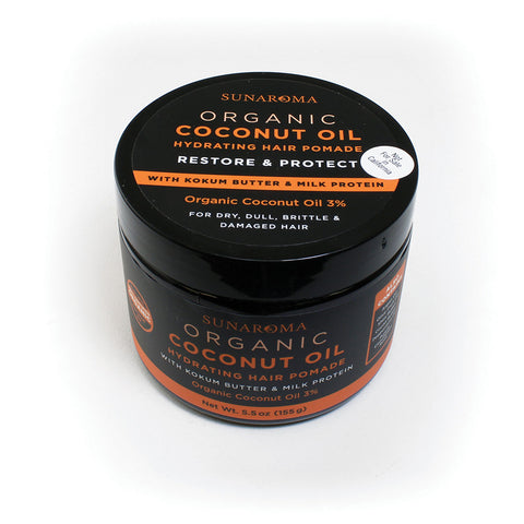 Organic Coconut Oil Hair Pomade - 5.5 oz