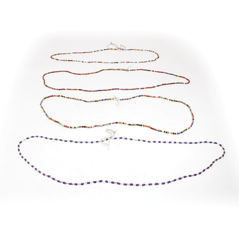 Set Of 4 Waist Beads (Worn Like A Belt)