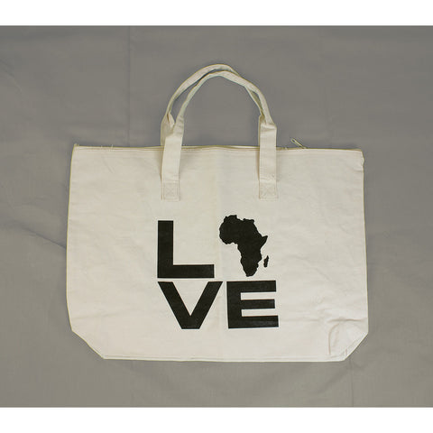 Canvas Bag: Love Africa