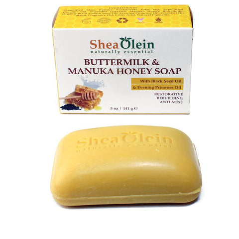 Buttermilk & Manuka Honey Soap - 5 oz.
