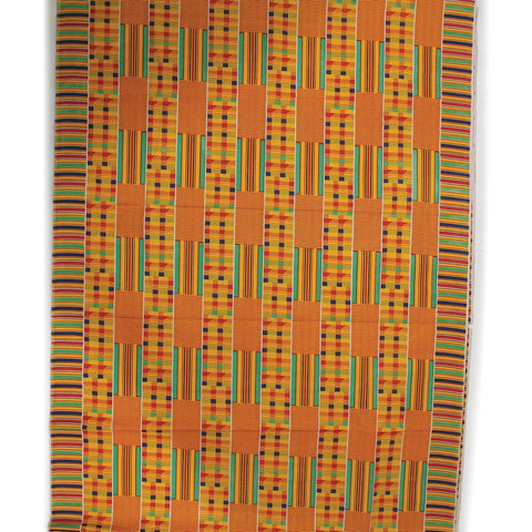 Kente Fabric #1 Cotton/Poly Blend - 12Y