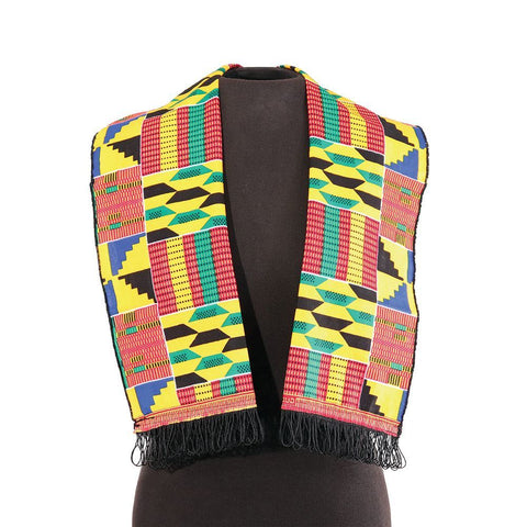 African-Made Kente Scarf/Table Runner #2