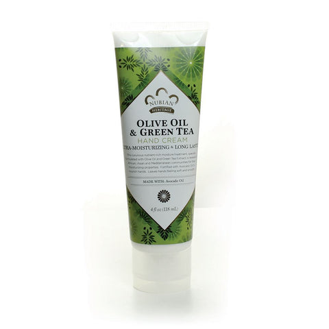 Olive & Green Tea Hand Cream - 4 oz.