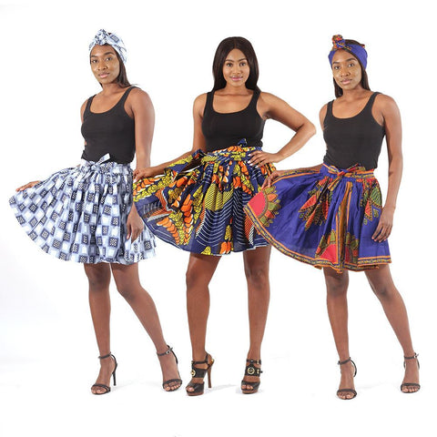 Set Of 3 ASSORTED Mini Skirts
