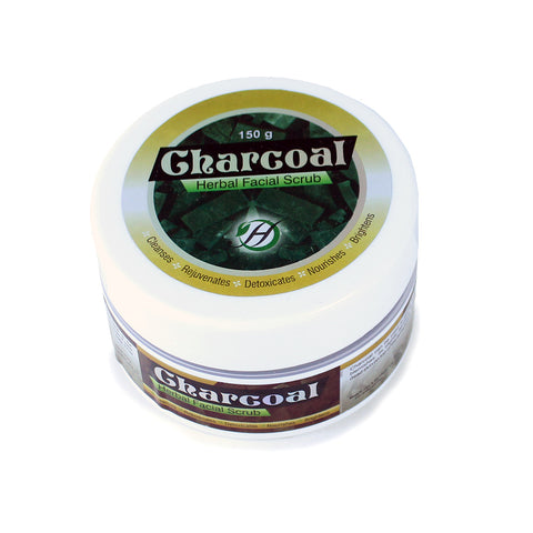 Charcoal Herbal Face Scrub - 150 g