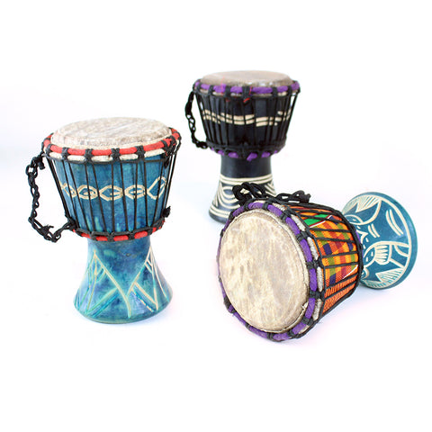 Ghanaian D'Jembe Drum: X-Small 6-8""
