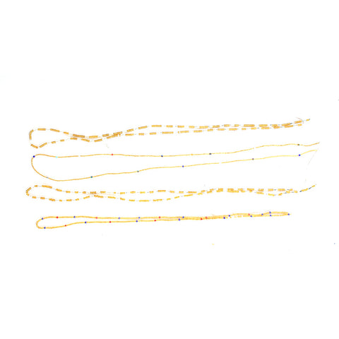 Set Of 4 Ghanaian Waist Beads