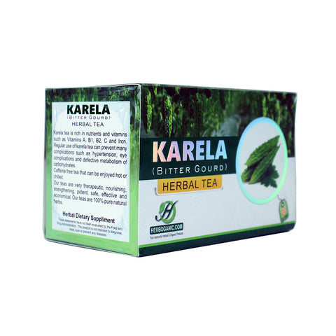 Karela Herbal Tea - 20 Bags
