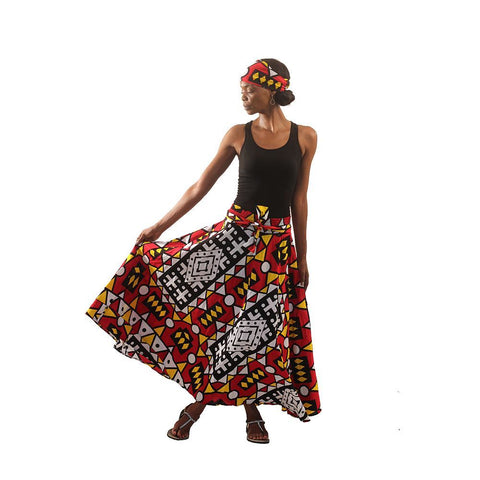 Colors Of Uganda Skirt