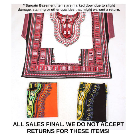 Set Of 3 2nd Quality King-Size Dashikis
