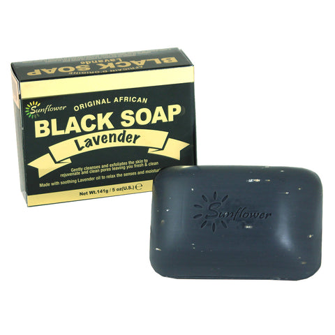 Lavender Black Soap - 5 oz.