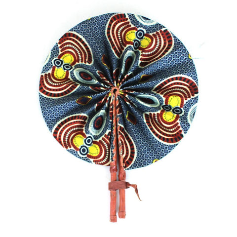 Afrocentric Folding Fan