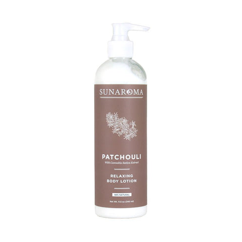 Patchouli Relaxing Body Lotion