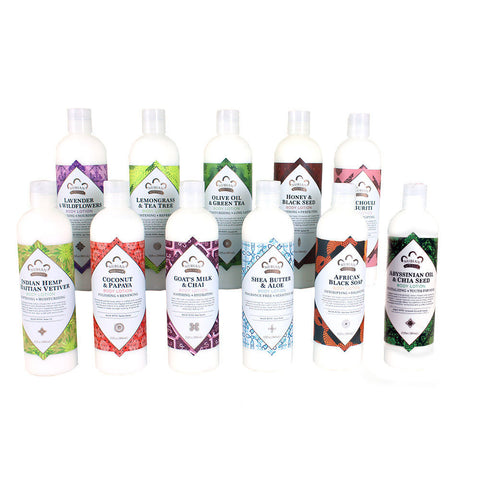 Set Of 11 Nubian Heritage Lotions