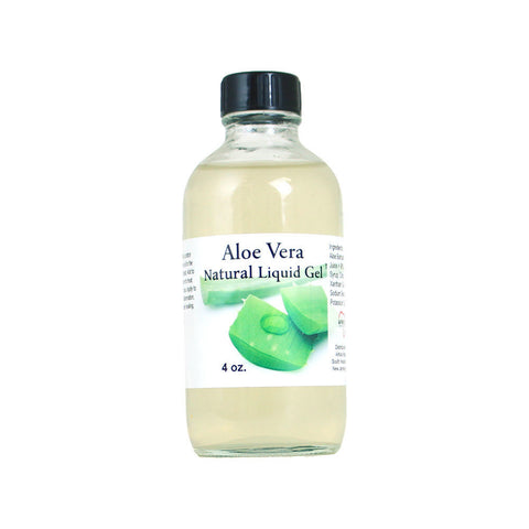 Aloe Vera Natural Liquid Gel - 4 oz.