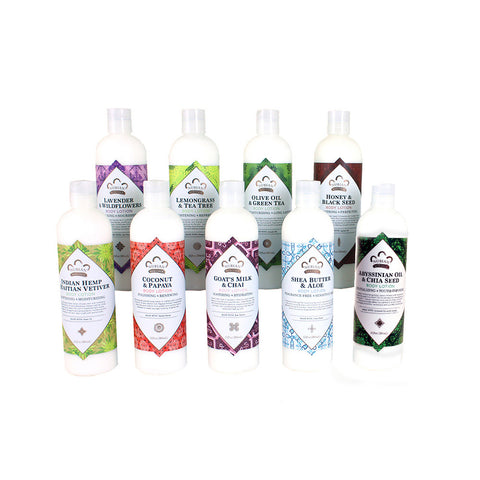 Set Of 9 Nubian Heritage Lotions