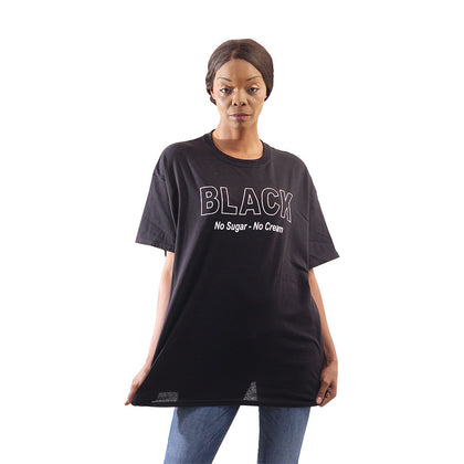 Black (No Sugar-No Cream) T-Shirt
