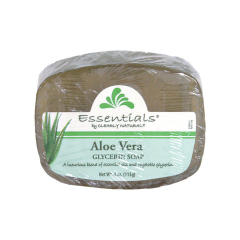 Clearly Natural Aloe Vera Soap - 4 oz.
