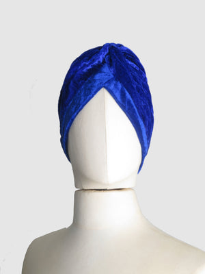 Velvet Turbans (One Size) Different Colours Available