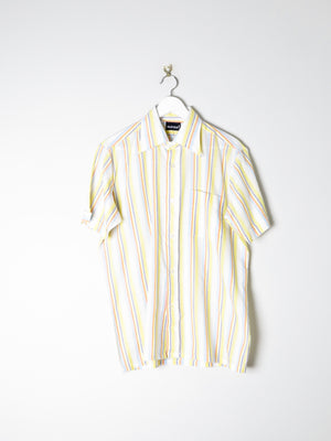 Men's Striped Summer Vintage Shirt 40 M/L