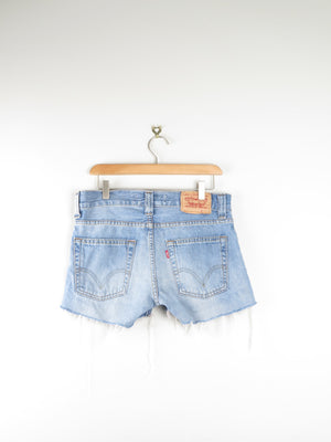 Levis 501s  Denim Shorts  30 inches