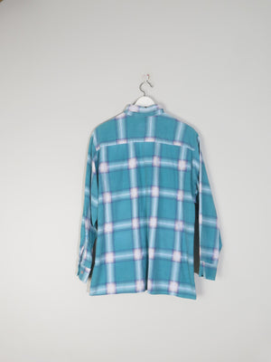 Blue Vintage Flannel Shirt L