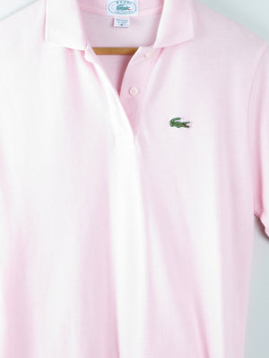 Vintage Pink Lacoste Tennis Top S