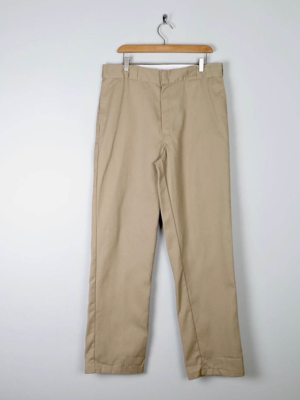 """Dickies"" Beige Classic  Fit Trousers 36"""