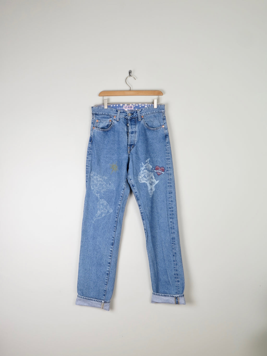 "Chipie Jeans 1990s 32"" {Reaxed Fit }"