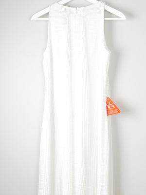 New Beaded White Dress New 10 - The Harlequin