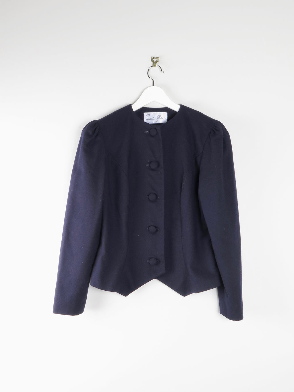 French Navy Light Wool Jacket 10/12