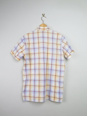 Mens Check 1960s Shirt M