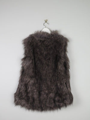 Brown Faux Fur Gilet S/M