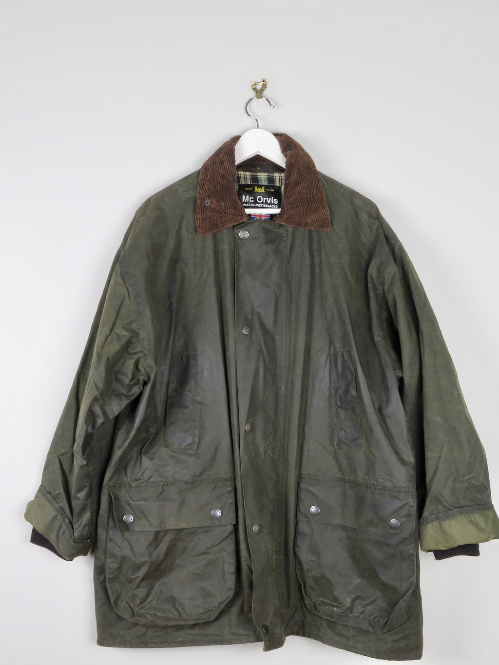 Mc OrvisMens Wax Jacket L