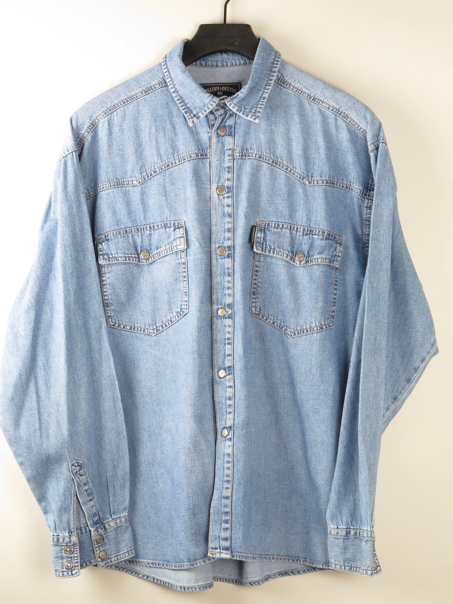 Mens Denim Shirt M