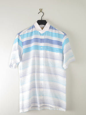 Mens 1970s Short Sleeved Shirt  Size: S/M