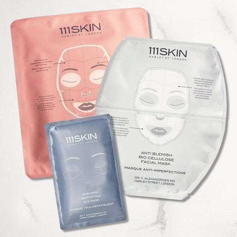 Heart Trio 111SKIN Masks