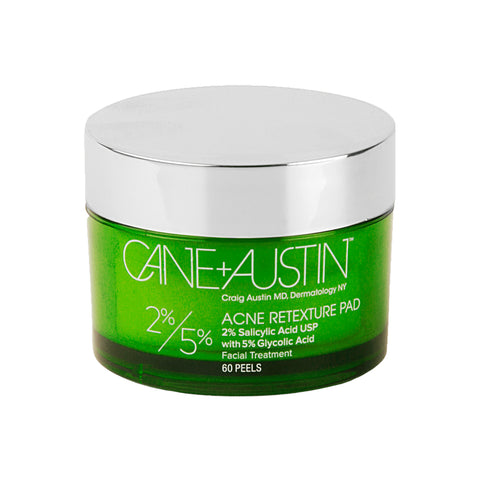 Acne Retexture Pad+ 2% Salicylic Acid USP with 5% Glycolic Acid, x60