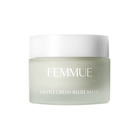 Femmue Gentle Green Relief Mask, 50g