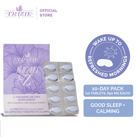 Night Z - Sleep Supplements, Box of 10